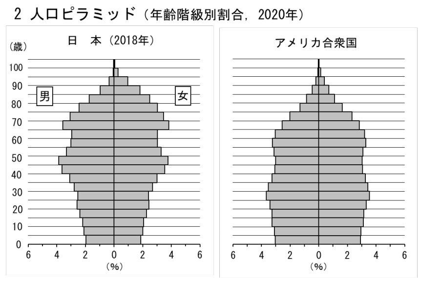 【2020】人口ピラミッド