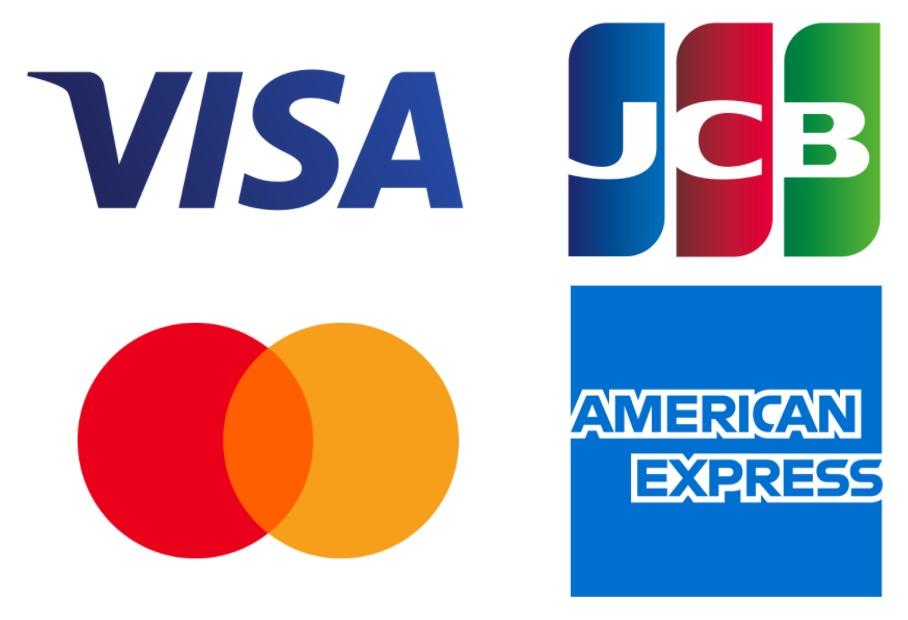 楽天カードのブランドは「VISA」「Mastercard」「JCB」「AMEX(アメックス)」の4種類