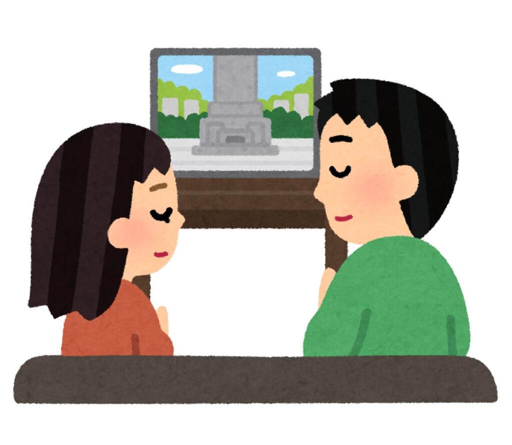 無症状の濃厚接触者はオンラインで参列