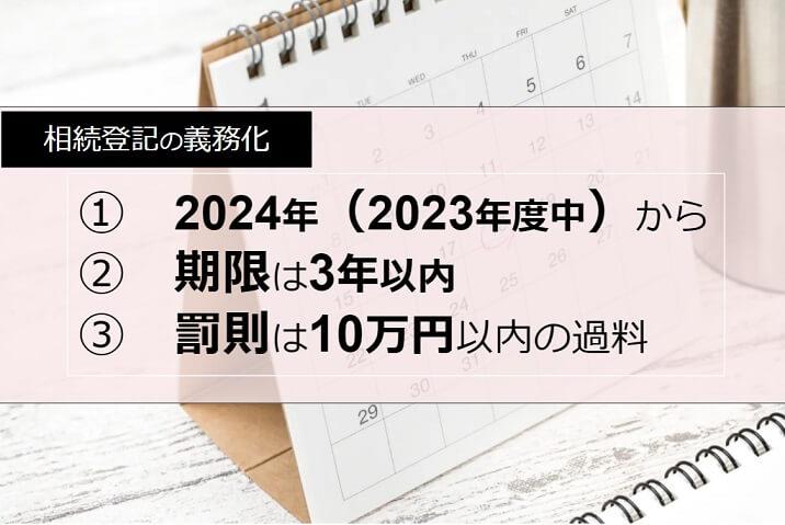 相続登記の期限は3年以内、罰則は10万円の過料!