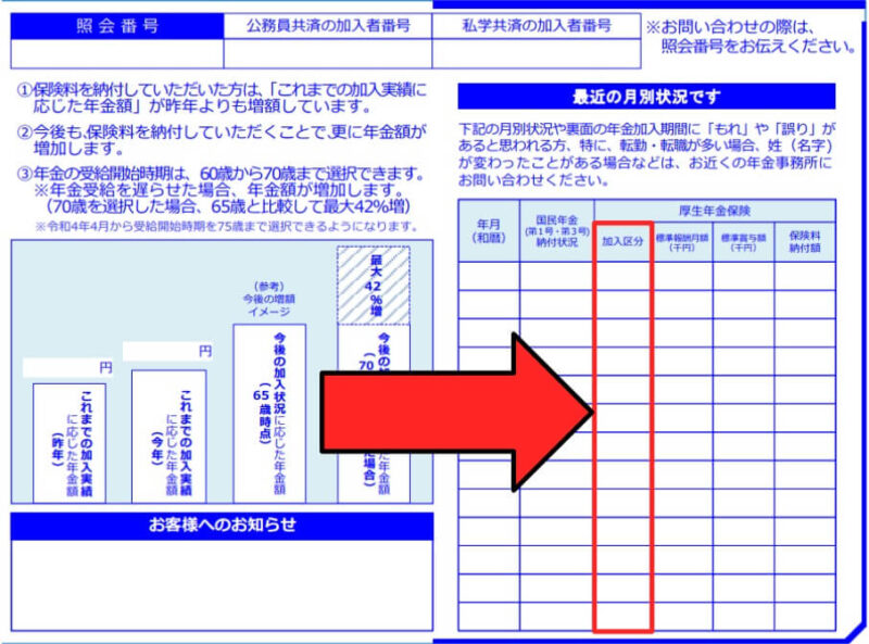 「厚生年金基金」加入確認方法