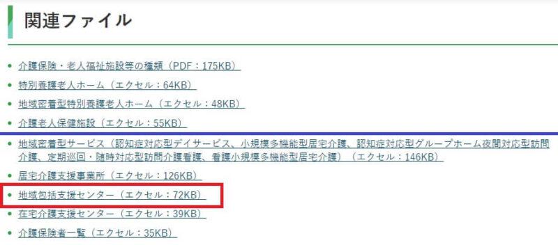 富山県の地域包括支援センター一覧