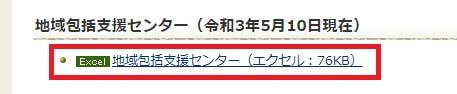 石川県の地域包括支援センター一覧